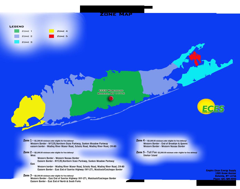 Long Island Heating Zone A A